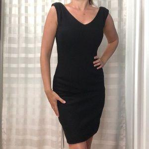 Banana Republic black mini dress size O NWT